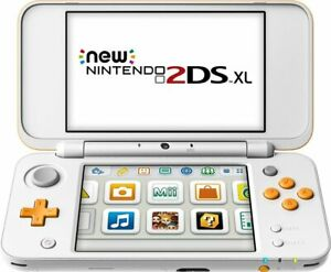 New-Nintendo-2DS-XL-Orange-White-Handheld-Gaming-System-RARE-AND-DISCONTINUED
