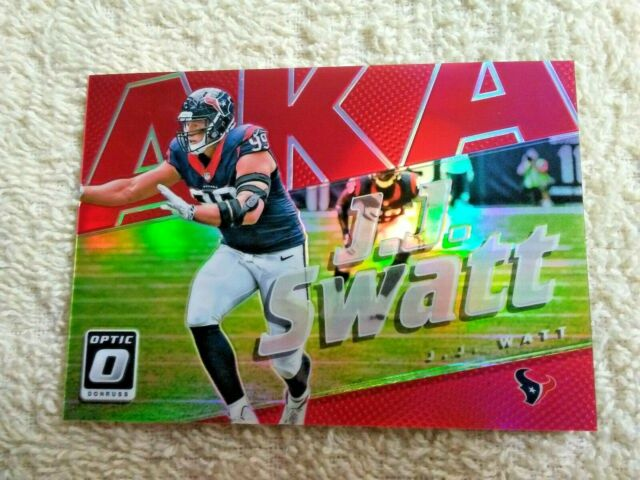 2017 Optic JJ Watt AKA JJ Swatt Red /99 - Houston Texans ...