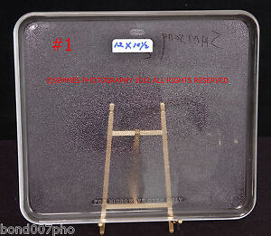 Microwave Glass Plates sizes 2 choose pre-owned  Square//Round GE//Samsung//mor 8