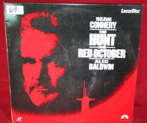 Laserdisc-o-The-Hunt-For-Red-October-Alec-Baldwin-Sean-Connery-Letterbox