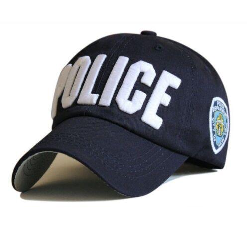 Police FBI Broderie Casquette De Baseball Réglable Hommes Femmes Snapback Sports Bone Hat