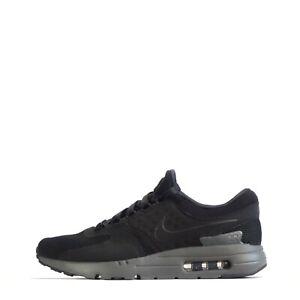 Nike-Air-Max-Zero-QS-Men-039-s-Casual-Gym-Training-Shoes-Trainers-Black-Grey