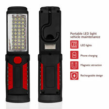 Ledcob Hand Torch Inspection Lamp Magnetic Work Light Handheld Usb Rechargeable