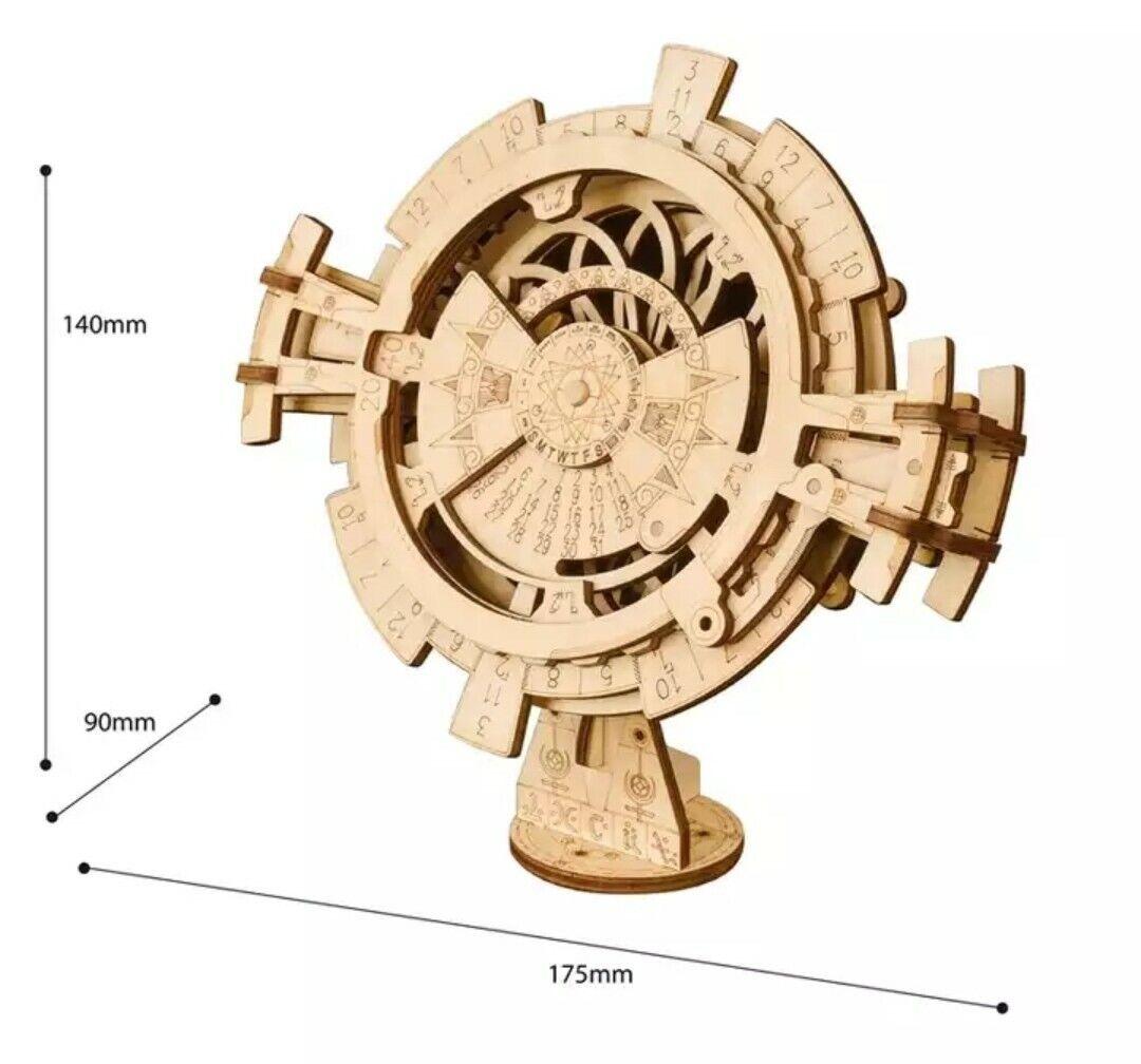 3 diverse scelte 3D Puzzle in Legno Scatola Scatola Scatola del Tesoro CALENDARIO adulto assieme Puzzle 1fc360