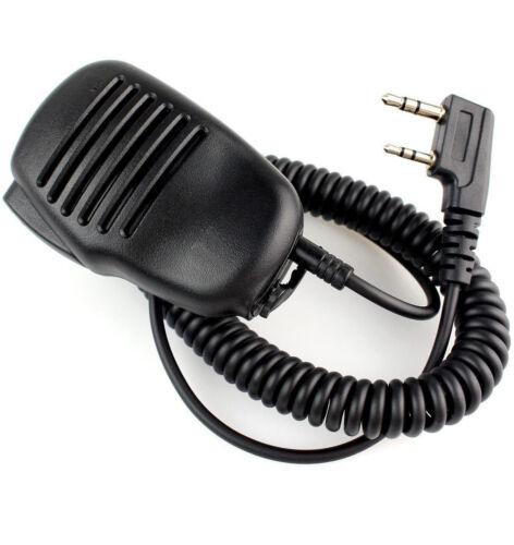 Speaker Mic Puxing PX-888K Wouxun KG-UVD1P Kenwood Baofeng UV-5R UV-3R+black