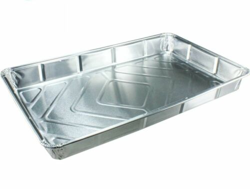"""40 x NEW Foil baking trays large containers Aluminium Disposable dishes 12 x 8/"""""""