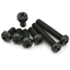 50X-Kunststoff-M2-M3-M4-Nylon-Kreuz-Pan-Kopf-Maschine-Schrauben-Schwarz-5MM-15MM Indexbild 13