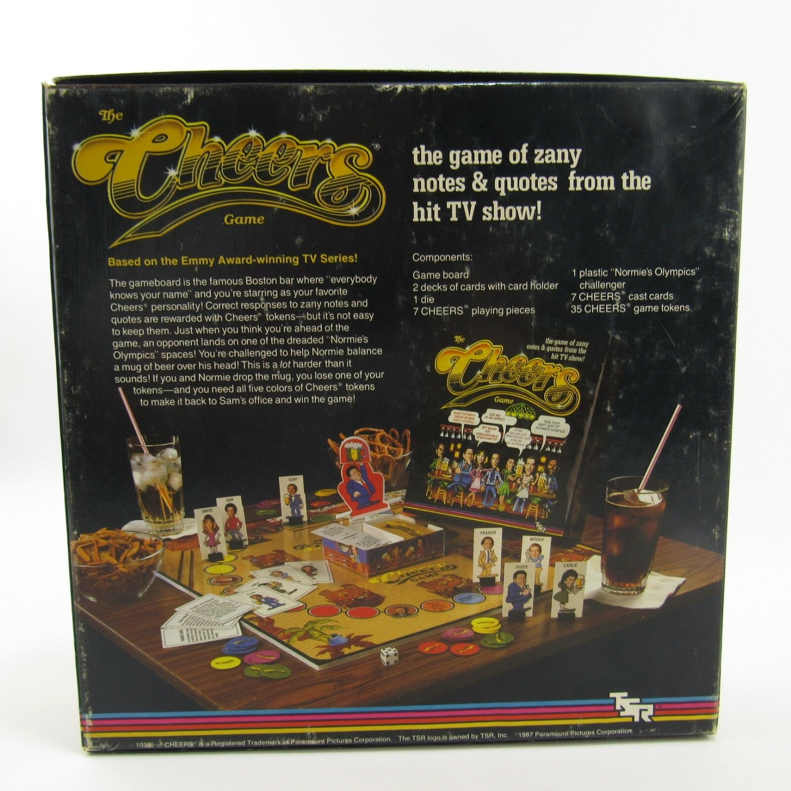 The Cheers Game TSR