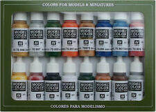 AV Vallejo 70101 Model Color / Colour Set Folkstone Basics 16 x 17ml