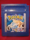 Pokemon Blue Version Nintendo Game Boy Cartridge only Excellent condition