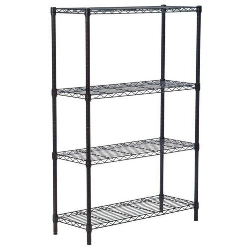 3//4//5 Tier Wire Garage Metal Shelving Storage Shelves Corner Shelf Rack Organize
