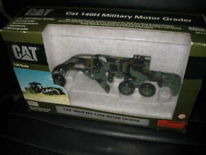 Details about CAT CATERPILLAR 1:50 NORSCOT MILITARY 140H MOTOR GRADER OLD  SHOP STOCK #55111