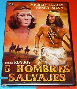 5-HOMBRES-SALVAJES-Five-Savage-Men-English-espanol-Precintada