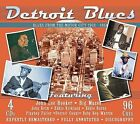 Detroit Blues: Blues from the Motor City 1938-1954 by Various Artists (CD, Feb-2005, 4 Discs, JSP (UK))