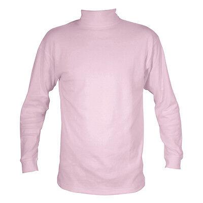 Dusky Pink Age 5to6 Years Generous Manbi Childrens Cotton Rollneck Jxs Unisex