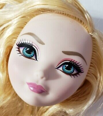 EVER AFTER HIGH DOLL THRONECOMING APPLE WHITE REPLACEMENT HEAD ONLY FOR OOAK