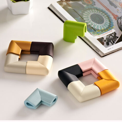 4x Baby Safety Anti Crash Soft Desk Table Corner NBR Guard Cover Cushion New Hot