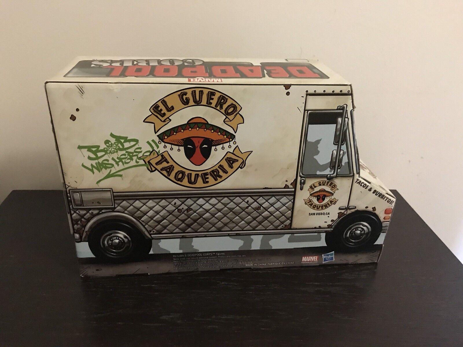 SDCC 2013 Deadpool Corps Taco Truck
