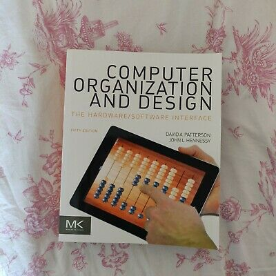 Computer Organization And Design The Hardware Software Interface Fifth Edition Ebay