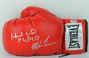 Mike-Tyson-amp-Evander-Holyfield-Authentic-Signed-Boxing-Glove-PSA-DNA-ITP-3