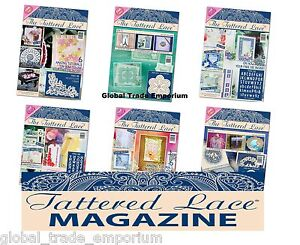 Tattered Lace Magazine Issue 10  *** INCLUDING FREE DIES ***