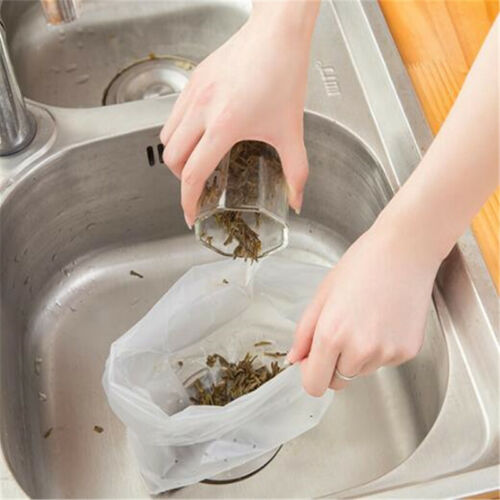 For Food Residue Filter Sink Strainer 30pcs Garbage Bags Accessories Kitchen YW