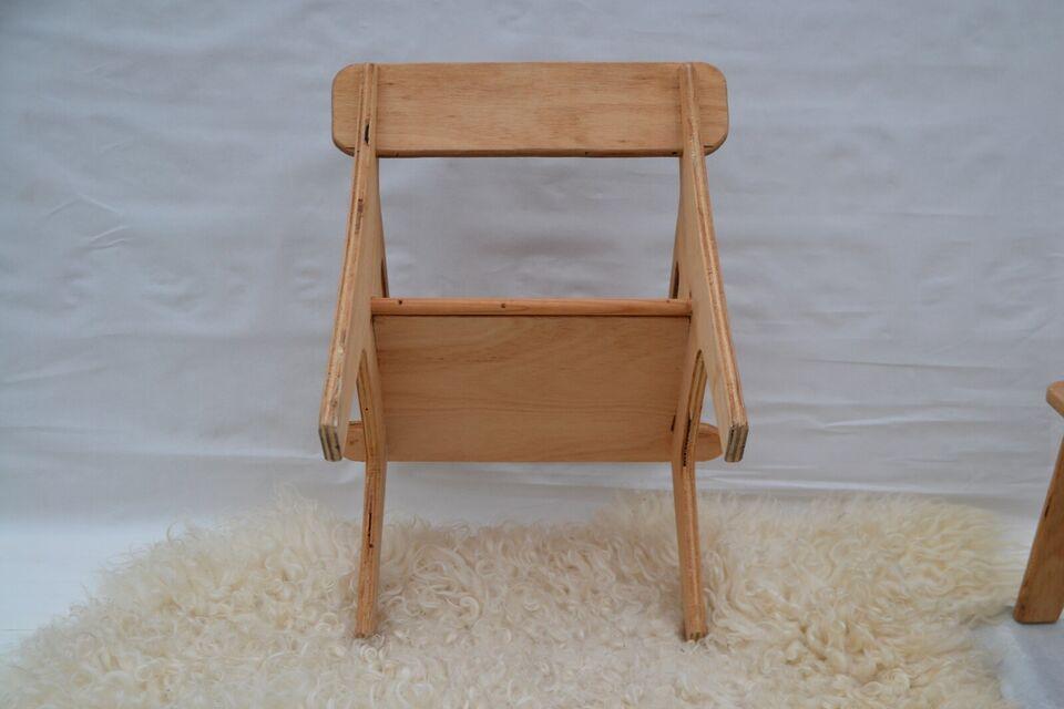Anden arkitekt, Retro børnestole, 2 stole