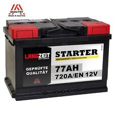 Autobatterie 12V 77Ah ersetzt 66AH 68AH 70AH 72AH 74AH 75AH 77AH 80AH 85AH