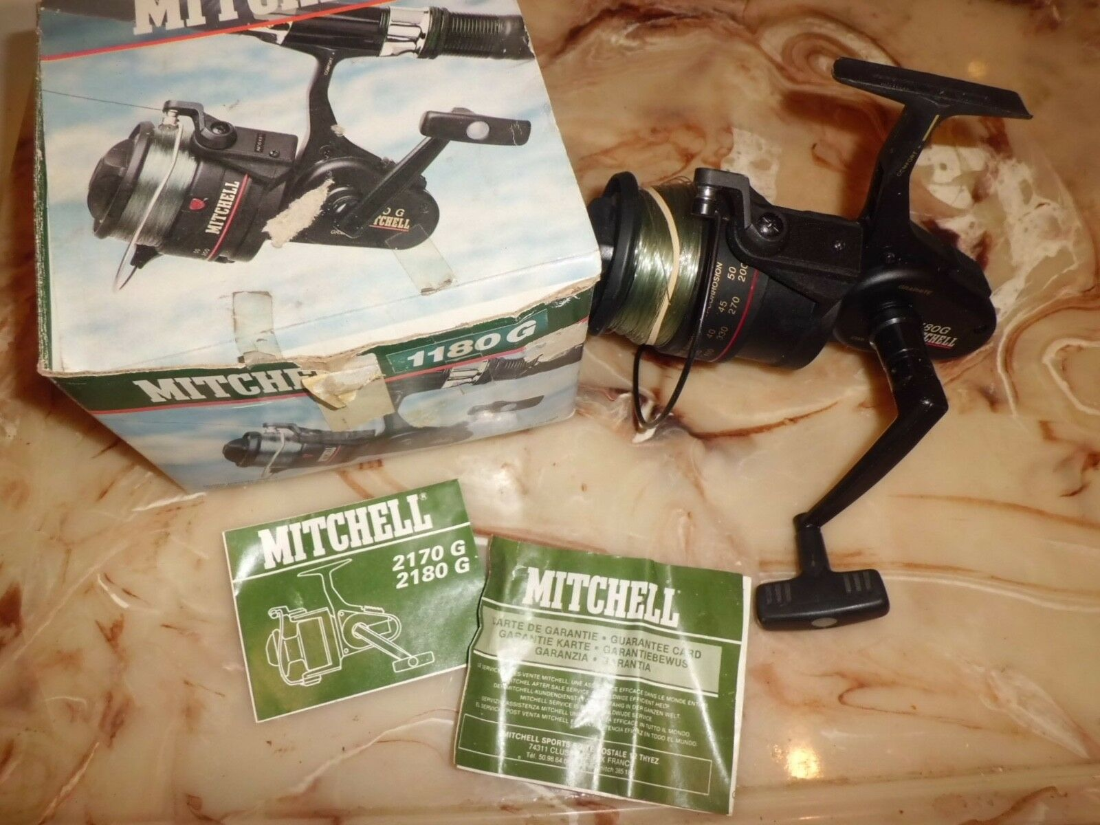 Vintage Mitchell 1180G Graphite Spinning Surf Reel