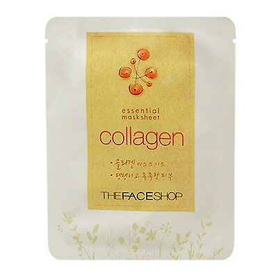 The Face Shop Essential Collagen Mask Sheet set(of 5)