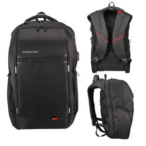 15-6-034-17-3-039-039-Waterproof-Laptop-Backpack-amp-USB-Port-Business-School-Travel-Bag