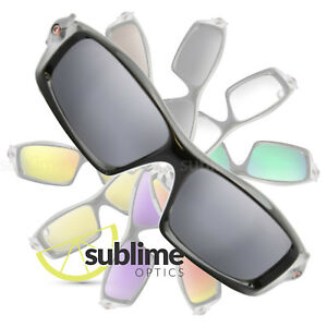3934d91f70 Image is loading POLARIZED-Metallic-Silver-Mirror-Replacement-Lenses-For- Oakley-