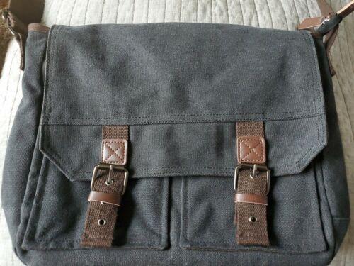 Canvas Cross Body Bag Messenger Shoulder Book Bags