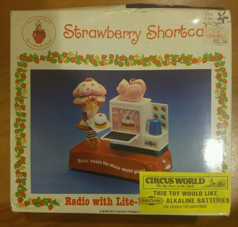 Vintage STRAWBERRY SHORTCAKE Playset Replacement Parts BERRY BAKE SHOP ...