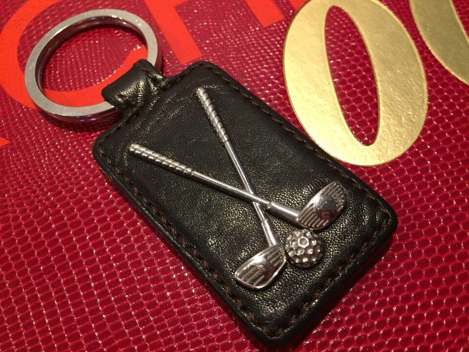 Nøgleringe, Nøglering læder