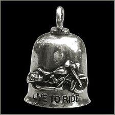 GREMLIN BIKER BELL LIVE TO RIDE for HARLEY DAVIDSON guardian spirit