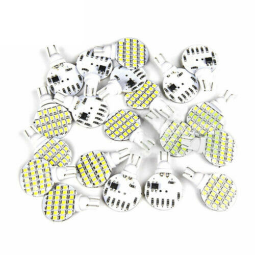 10Pc Super Bright 4.8w T10 921 6000k White Car RV Wedge 24SMD LED Light Bulb 12v