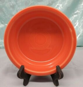 FIESTAWARE Poppy Medium Bowls Fiesta Orange 19 oz