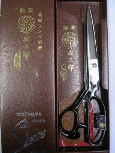 Shozaburo 26cm tailoring shears scissors 01-243 Jyo-saku F//S w//Track# New Japan
