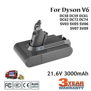 For-Dyson-965874-02-V6-DC61-DC62-Vacuum-Cleaner-Li-ion-Replacement-Battery-O