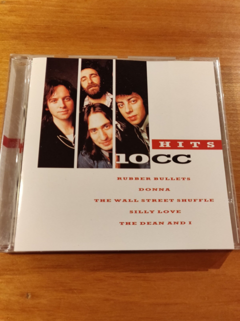 10CC: Hits, rock, CD i pæn stand
