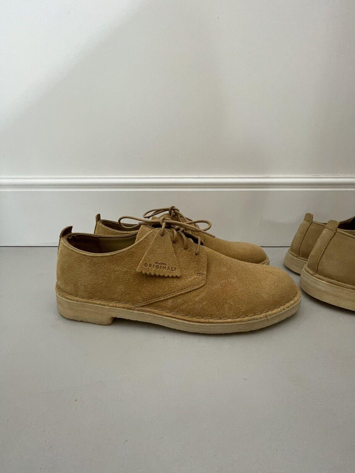Clarks Original Desert London Shoes Oak Suede UK10.5 G (US11.5) Oi polloi NEW