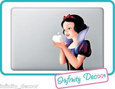 Adesivo Biancaneve  per Mac Book Pro/Air 15 - Stickers Snow White MacBook 15