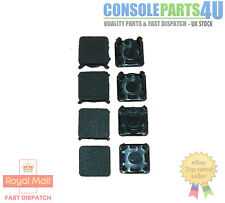 Replacement Rubber Feet & Plastic Screw Cover Inserts Set, PS3 Slim Repair.