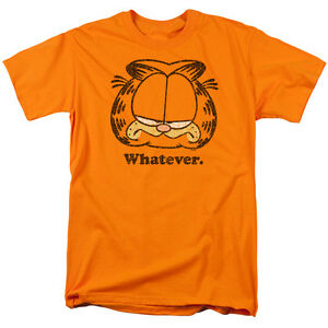 Garfield-Comic-Cat-WHATEVER-Licensed-Adult-T-Shirt-All-Sizes