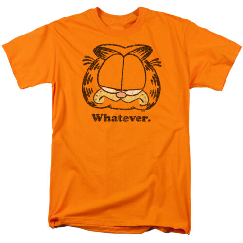 Garfield Comic Cat WHATEVER Licensed Adult T-Shirt All Sizes