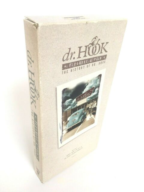 Dr Hook Pleasure & Pain The History of Dr Hook 3 CD & 20 Page Booklet Promo Set
