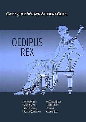 1 of 1 - Cambridge Wizard Student Guide  Oedipus Rex by Kilian McNamara (Paperback, 2003)