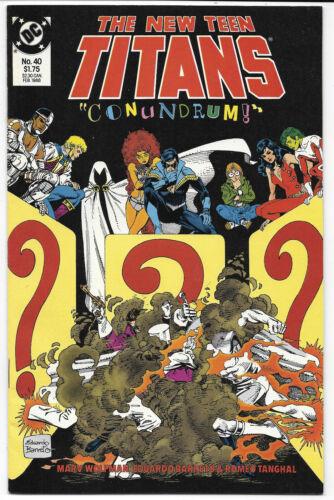 Choice The New Teen Titans #2-80 1984-1991 DC Comics Free Bag//Board