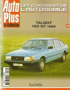 LES-CLASSIQUES-DE-L-039-AUTOMOBILE-69-TALBOT-150-GT-1982-SIMCA-1100-TALBOT-HORIZON